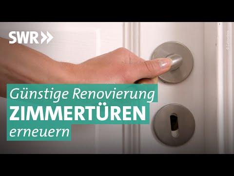 Tür-Renovierung: Aus alt mach neu