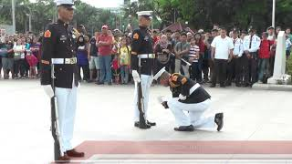 WATCH: Changing of the Guard at Rizal Monument in Luneta Park, Manila
