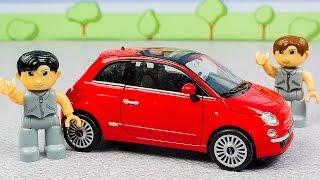 Однажды в автосалоне. Выбор и покупка автомобиля - непростая задача! Мультики про машинки