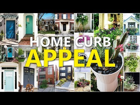 """22 Home's Curb Appeal Ideas """"REMAKE"""""""