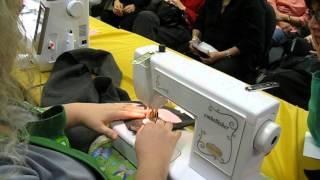 Shreveport Sewing Center, LA - Sewing with the Baby LocK Emblishler
