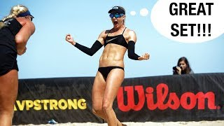 How to Bump Set - Beach Volleyball Tutorial