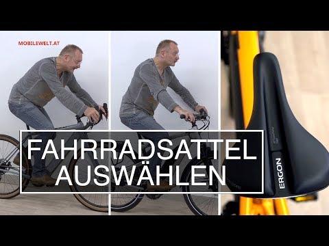 Fahrradsattel - welchen nehmen?
