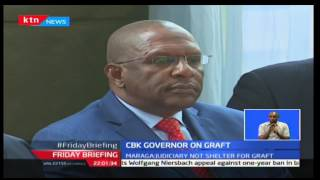 Dr. Patrick Njoroge hailed move by CJ David Maraga on setting up of economics crime division