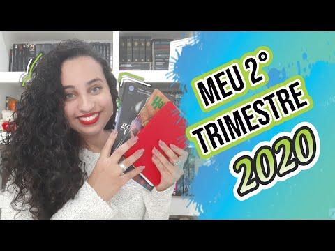 Meu 2° Trimestre de leituras 2020 | Karina Nascimento | Paraíso dos Livros