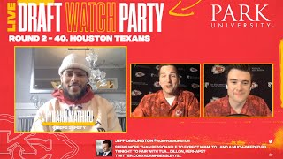 NFL Draft Day 2 Preview  | Chiefs Watch Party