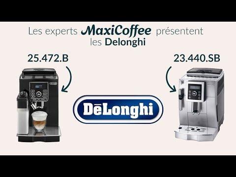 Delonghi 23.440.SB et Delonghi 25.472.B | Machine à café automatique | Le Test MaxiCoffee