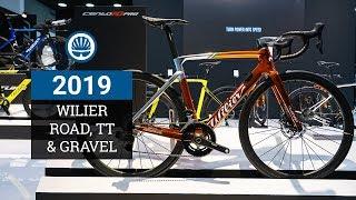 Wilier Triestina 2019 - Cento10 Pro Disc, Turbine TT & Carbon Gravel Bike