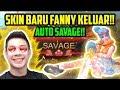 REVIEW SKIN BARU FANNY AUTO SAVAGE BOYY PARAH MENN WKAKAAK Mobile Legends
