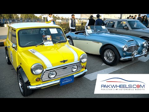 Classic & Vintage Cars at Pakistan Autoshow 2020 | PakWheels