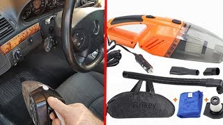 Best Car Vacuum Cleaner from CHINA / Review and Check of overall performance the Car Vacuum Cleaner
