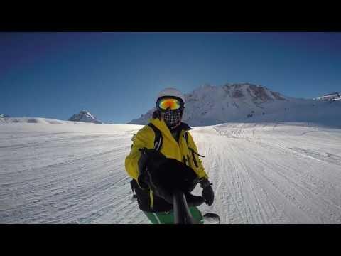 Les Arcs Snowboarding 2017 Road Trip