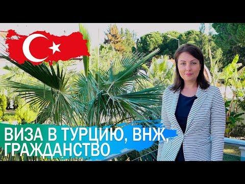 Виза в Турцию, ВНЖ и турецкое гражданство