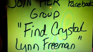 MISSING PERSON Crystal Lynn Freeman