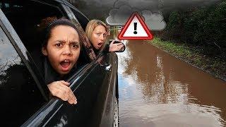 BAD IDEA!! Storm Dennis Weather WARNING!!!