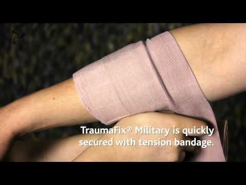Παρουσίαση του επίδεσμου Trauma Fix Military