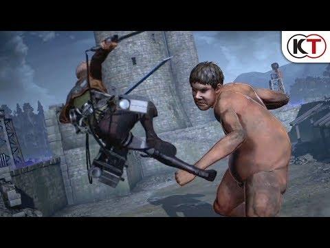 KOEI TECMO開發動作遊戲《進擊的巨人2》公佈新宣傳片