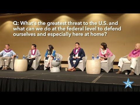 Highlights from Hawaii's 1st Congressional District Forum in Waikiki