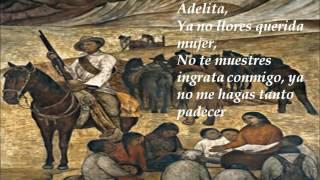 La Adelita (corrido revolucionario).- Guitarra instrumental de los Poetas de la Guitarra