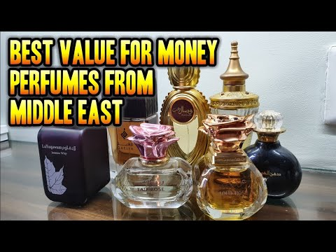 Most Exotic Floral Perfumes from the Middle East