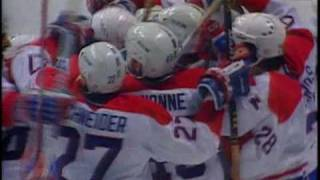 MONTREAL CANADIENS 1993 ROAD TO THE CUP