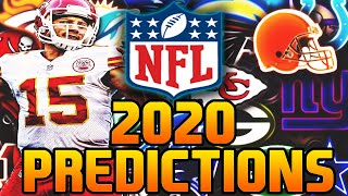 2020 NFL Season Predictions + Super Bowl/MVP Winners