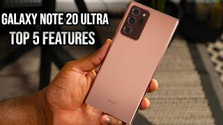 Top 5 Features of the Samsung Galaxy Note20 Ultra!