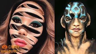 NO PHOTOSHOP! TOP 15 Halloween Makeup Tutorials 2018