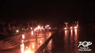 White Party & Fire Show Riviera Maya