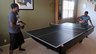 APPLE CIDER PING PONG WAGER! | Daily Dose S2Ep134
