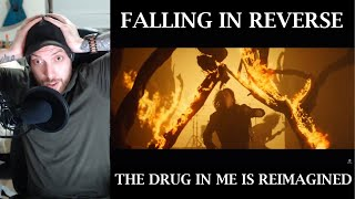 ➨Metalhead Reacts to Falling In Reverse   The Drug In Me Is Reimagined