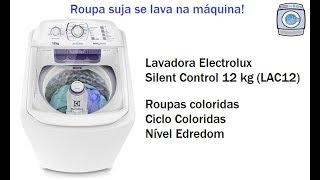 Lavadora Electrolux Silent Control 12 kg (LAC12) - Ciclo Coloridas/Nível Edredom