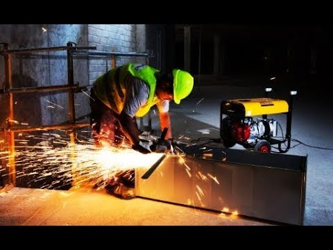 Atlas Copco Portable Power Generator QEP range, for intensive use and for construction industries - zdjęcie