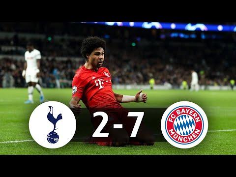 🇩🇪 Comment le Bayern a ridiculisé Tottenham (2-7)