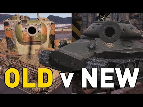 World of Tanks || OLD Versus NEW