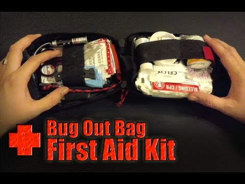 Emergency Survival Medical Pouch / Bug Out Bag First Aid Kit