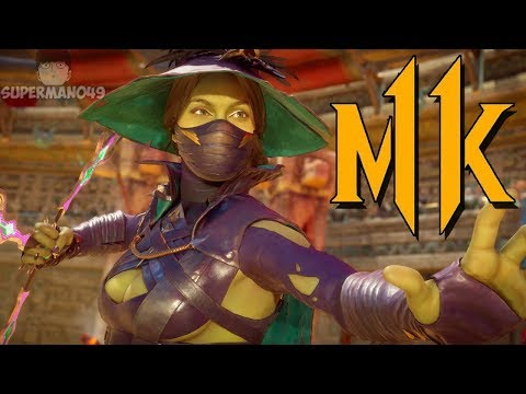 """PLAYING WITH NEW WICKED WITCH JADE! - Mortal Kombat 11: """"Jade"""" Gameplay"""