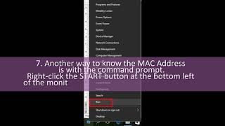 How to find out MAC Address PC or laptop