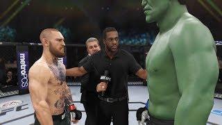 Конор МакГрегор vs ХАЛК(HULK) в UFC