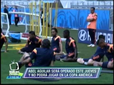Abel Aguilar sera operado este jueves y no podra jugar la Copa America