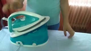 Demonstratie de calcat cu statia Tefal Effectis GV6720