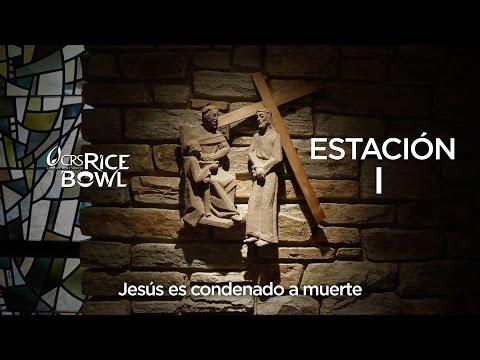 Estación I: Jesús es condenado a muerte