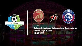 Live Streaming Indosiar dan Vidio.com Sriwijaya FC vs Arema FC Pukul 15.30 WIB