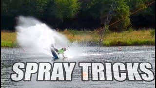 #9 Cablepark Wakeboard Begginer – Spray tricks tutorial