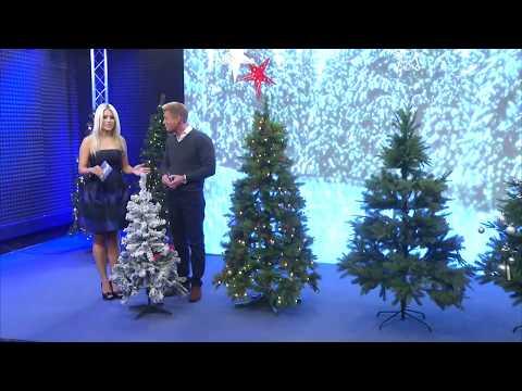 Künstlicher Weihnachtsbaum im Schneedesign, 120 cm, 199 PVC-Spitzen