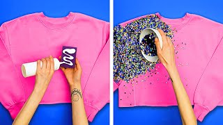 29 COOL AND EASY T-SHIRT DECOR IDEAS