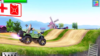 MONSTER TRUCK RACING El Diablo Gameplay Android / iOS | Hill Climb Racing