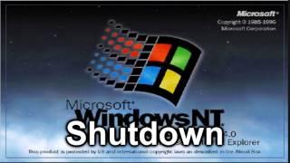Windows NT 4.0 Sound: Shutdown