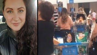 Couple Mocks Struggling Mom At Walmart. That's When A Stranger Steps In