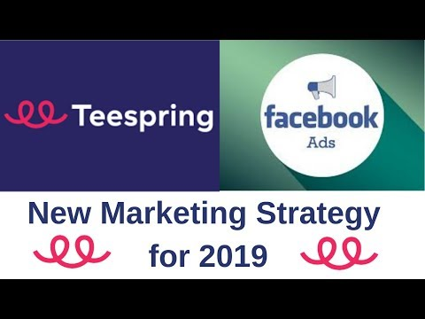 How To Make $200/Day With TeeSpring And Facebook | New